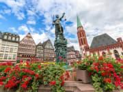 Germany, Frankfurt, Romer City Hall