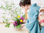 Ikebana private lesson