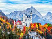 Neuschwanstein, medieval castle