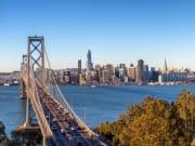 USA_San Francisco_Golden Gate Bay_Bay Bridge