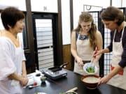 Kyoto obanzai cooking lesson WAK Japan