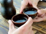 Sake tasting nihonshu