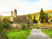A monastic site in Glendalough