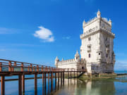 tower of belem tower of st vincent lisbon portugal