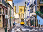Cityscape lisbon portugal