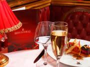 Bal du Moulin Rouge, paris, france, dinner