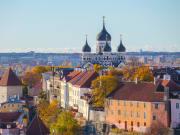 estonia tallinn cityscape hop on hop off bus tour