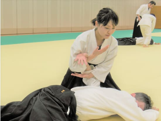 Beginner-Friendly Aikido Martial Arts Lesson in Hiroshima