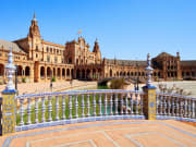 Plaza de Espana seville spain sightseeing tour