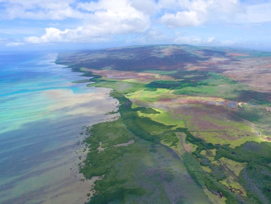 Hawaii_Oahu_Magnum Helicopters_Molokai South Shore