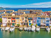 Port Grimaud and its colorful houses