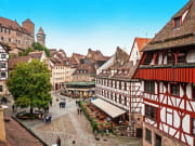 Nuremberg, Old town, Germany, cityscape