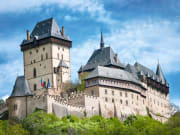 czech republic karlstejn castle prague sightseeing