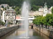 Czech Republic Karlovy Vary Geyser