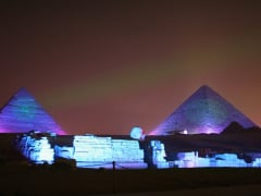 Egypt_Giza_pyramids_and_Sphinx_Sound_and_Light_Show_shutterstock_16115239