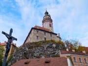 Czech Republic Cesky Krumlov Castle sightseeing