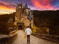 Burg Eltz Castle, Germany, Koblenz,