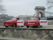 Trabant Car tour in Budapest
