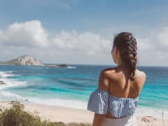 Hawaii_Oahu_Island and You_Beach girl