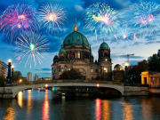 Berline, New Year, Cruise, Fireworks