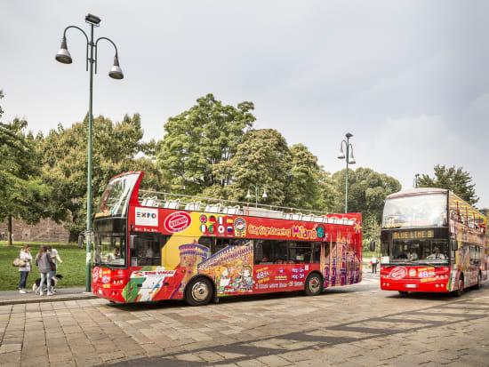 Milan Sightseeing Bus Tour