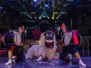 Okinawa drum performance at Epica Okinawa