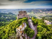 Portugal, Sintra, Castle of the Moors