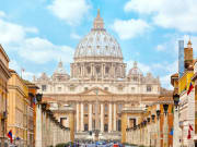 Italy, Rome, St Peters Basilica