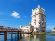 Portugal, Lisbon, Belem, Belem Tower, Tagus River
