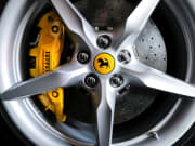 ferrari, wheel, tire