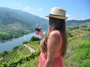Wine tasting, Douro, Portugal