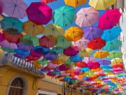 Umbrella Sky Project, Águeda, Portugal