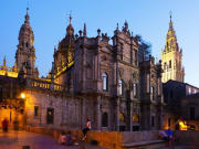 Cathedral of Santiago de Compostela, Spain