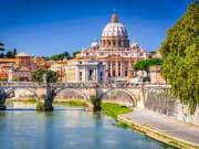 Italy_Rome_Vatican_Saint Peter Basilica_Sant Angelo Bridge_Tiber river_shutterstock_648140494