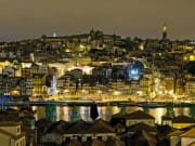 Porto at night, landscape