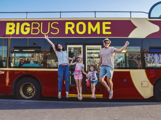 rome sightseeing bus tour