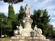 Italy, Rome, Villa, Borghese Garden, monument