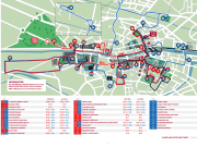 dublin sightseeing tour route map