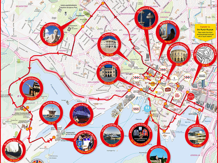 Oslo Hop On Hop Off Sightseeing Bus Tour Oslo Tours