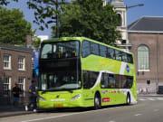 Netherlands, Amsterdam, hop on hop off bus
