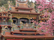 shouzhen temple in alishan national scenic area