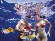 Maui - Prince Kuhio Snorkel - Couple Snorkeling
