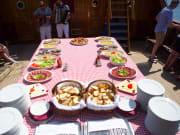 Elaphite Islands Cruise, Lunch Buffet