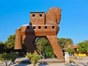 Turkey Troy Trojan Horse