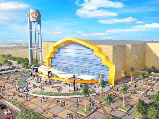 Warner Bros World Entrance