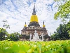 Thailand_Bangkok_Ayutthaya_Wat_ Yai_Chai_Mongkhon_shutterstock_679223050