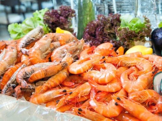 Shrimp Buffet Stockholm Archipelago Cruise