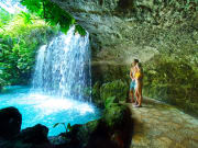 Mexico_Cancun_Mexitours_Xenxes and Tulum Adventure Waterfalls