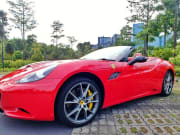 Ferrari California red sports car