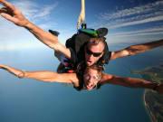 tandem skydive perth photo taken mid-air
